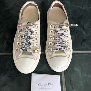 Authentic Dior walk-in sneakers